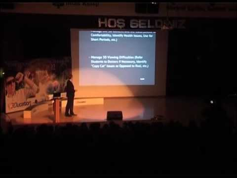 3D Conference (2012) - Using 3D In Education - Thomas Littleton
