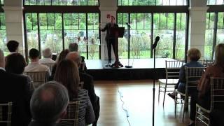 Η παρουσίαση του βιβλίου της Ελληνοαμερικανίδας πρώην Πρέσβη των ΗΠΑ Ελένης Τσακοπούλου - Κουναλάκη