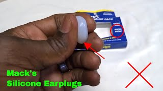 how to use mack s pillow soft silicone putty earplugs review