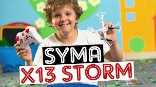 Квадрокоптер  Syma X13 Storm: обзор и распаковка