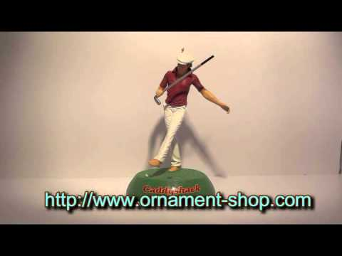 2014 Caddyshack The Zen Of Golf Hallmark Ornament Youtube