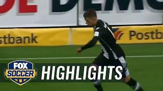 Fabian Johnson scores for Gladbach vs. Bayer Leverkusen | 2017-18 Bundesliga Highlights