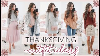 10 THANKSGIVING OUTFIT IDEAS 2019