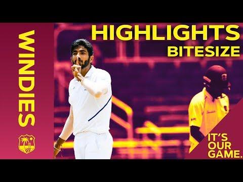 Windies vs India 2nd Test Day 4 2019 | Bitesize Highlights