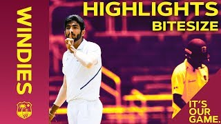 Windies vs India 2nd Test Day 4 2019 | Bitesize Highlights