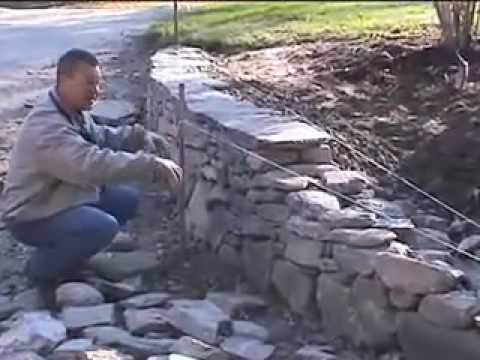 How To Build A New England Fieldstone Wall By David