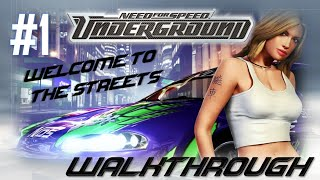 Need for Speed: Underground (PC) | Walkthrough Part #1 - Welcome to the Streets (HARD) [HD 60FPS]