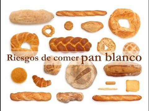 Los riesgos de comer pan blanco