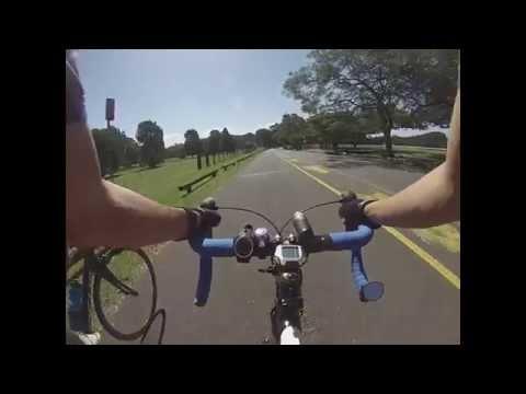 Road cycling at Centennial Park