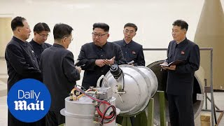 US: North Korea could be met with 'massive military response' - Daily Mail
