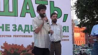 Защитнику Урочища Введенское Борисовка одели наручники, сломали ребро