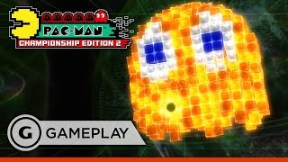 Giant Ghost Gameplay - Pac-Man Championship Edition 2