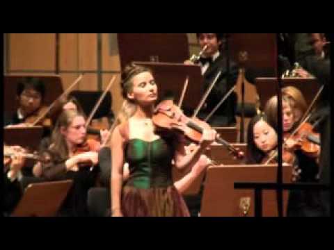 Aysen Ulucan - Schumann Violin concerto part 1