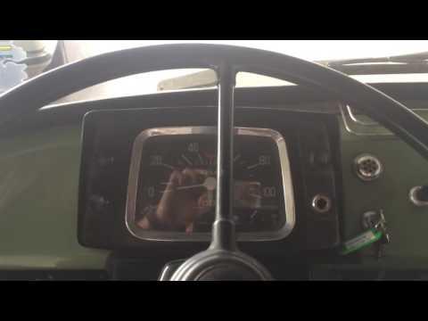 Auto Union F-1000-L cold start