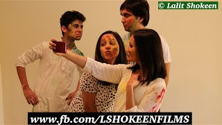Types of people on Holi - Lalit Shokeen Comedy