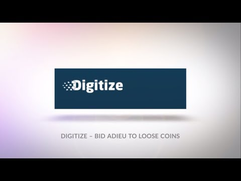 Digitize  : Converting loose change into cryptocurrency
