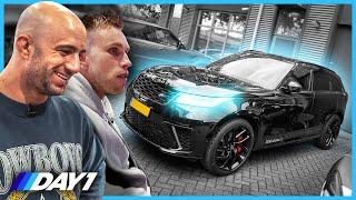 NICKY ROMERO zijn nieuwe RANGE ROVER | De Auto Van Nicky Romero | DAY1