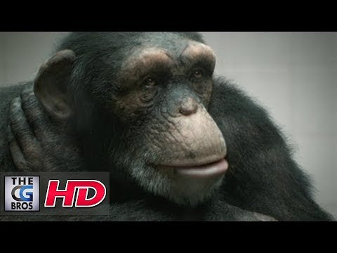 """CGI VFX Animated Spot HD: """"98% Human"""" by - The Mill"""