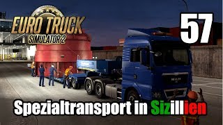 ETS2 V1.31 I MAN TGX XLX I SPEZIALTRANSPORT in Sizillien #57 [Deutsch/HD]
