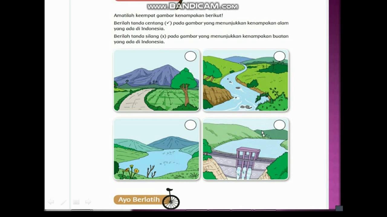 Bentang Alam Di Indonesia Youtube