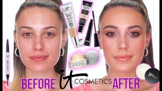 IT COSMETICS | FULL COVERAGE GLOWING SKIN! | Sephora Inside JCPenney | Victoria Lyn