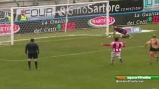 vicenza salernitana 2 - 0 rigore parato Berni HD