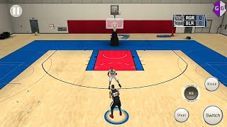 NBA 2K18 Android - How to Use Practice Facility Court on Blacktop