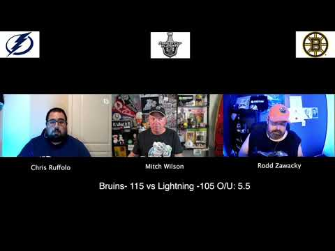 Tampa Bay Lightning vs Boston Bruins 8/5/20 NHL Pick and Prediction Stanley Cup Playoffs