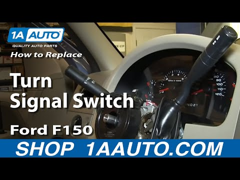 How To Install Replace Turn Signal Switch 2004-008 Ford F150