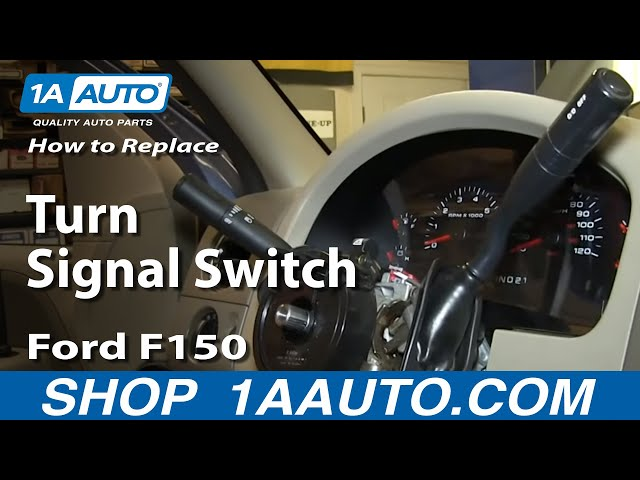 How To Replace Turn Signal Switch 04-08 Ford F150 | 1A Auto