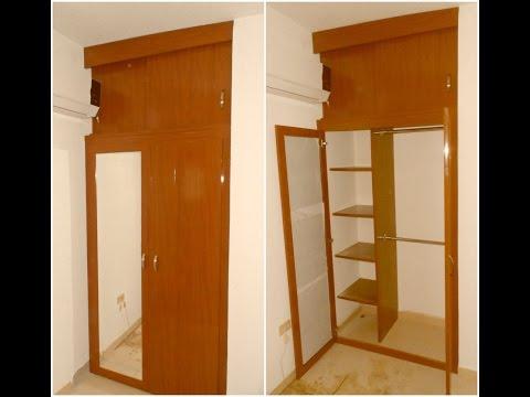 Como hacer un zapatero doovi for Closet para espacios pequenos