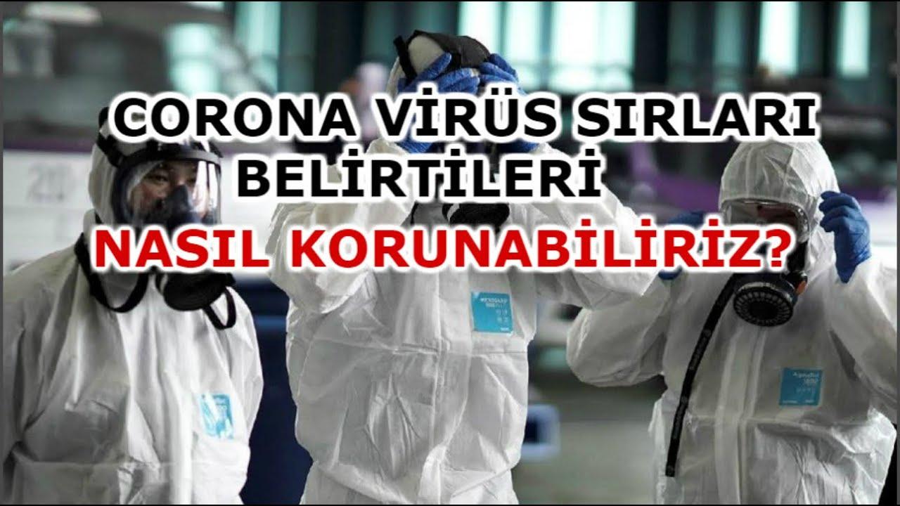 Coronavirus Nedir? Corona Virüs Belirtileri! Nasıl Korunabiliriz? Çin - Wuhan Sağlıklı Yaşam Sırları