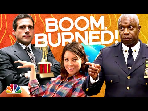 Our Favorite Burns From @The Office, @Parks and Recreation, @Brooklyn Nine-Nine and More