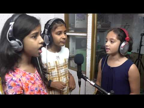 SAU AASMANO KO song performed by our students, Raga's first recording workshop