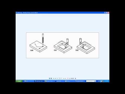 CNC PROGRAMMING G-Code basics #1