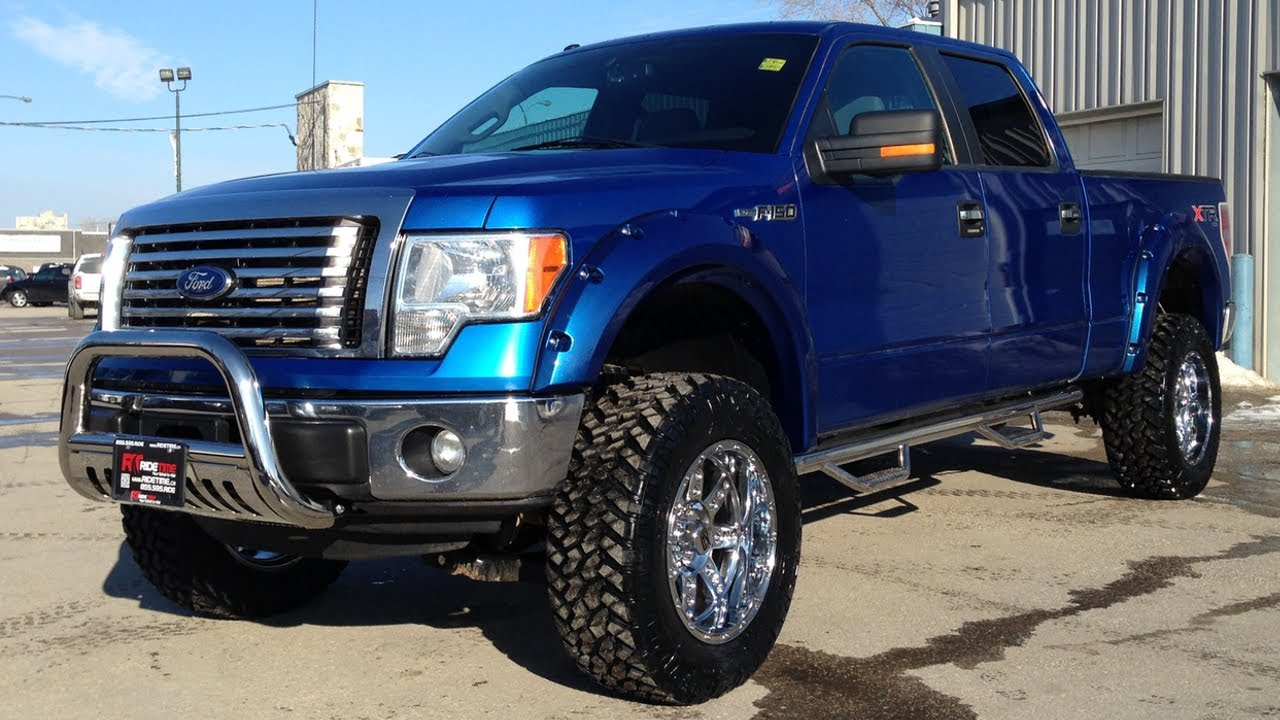 Lifted 2017 Ford F 150 Xlt Xtr From Ride Time In Winnipeg Mb Canada You