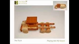 Wood Toy Truck By Dobneyblocks.com