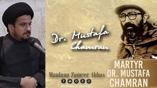 Shaheed Dr. Mustafa Chamran ki Qabar - Maulana Zameer Abbas Jaffri