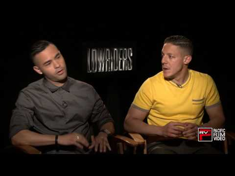 "Theo Rossi and Gabriel Chavarria on perceptions  misconceptions of ""Lowriders"" and Graffiti Art"