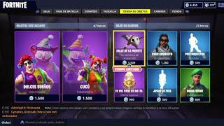 THE *NEW STORE* OF FORTNITE TODAY SEPTEMBER 23 *NEW SKINS* EPICS OF PAYASOS!!!