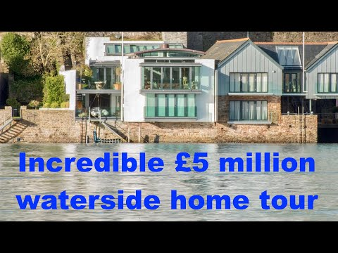 Incredible £5,000,000 waterside home tour