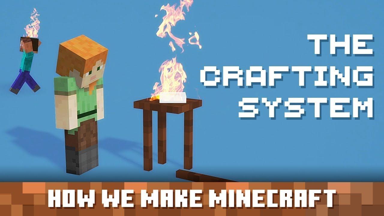【Minecraftの作り方】クラフティングシステムのクラフト