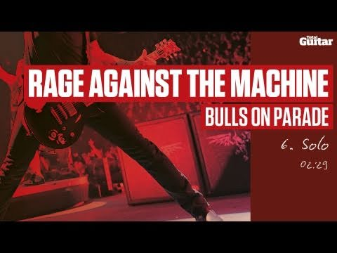 Guitar Lesson: Rage Against The Machine 'Bulls On Parade' -- Part Six -- Solo (TG217)