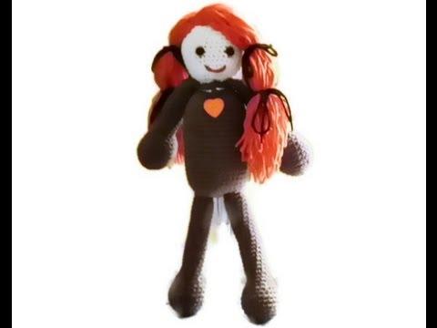 Amigurumi Doll Head Part 2 by Crochet Hooks You - YouTube