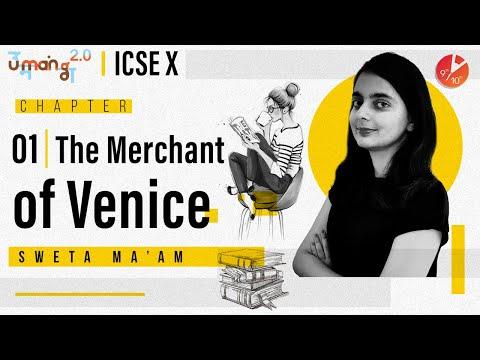 The Merchant Of Venice Story | William Shakespeare | ICSE Class 10 English | Umang 2020 Vedantu