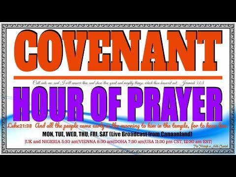 Covenant Hour of Prayer, September 23, 2017