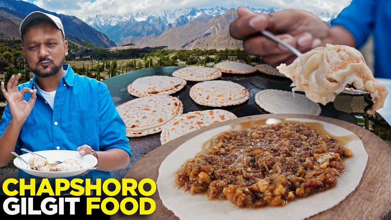 Chapshoro | Traditional Food of Gilgit Baltistan | Incredible Himalaya | Street Food Pakistan