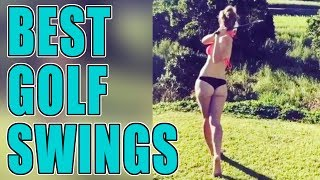 Best Golf Swings | Best Girl Golf Swings