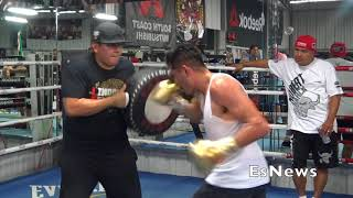 [Check Out] Jose Ramirez Not Holding Back In Training At RGBA EsNews Boxing