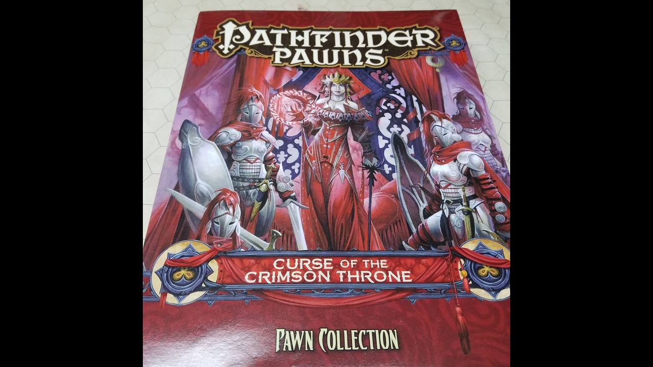 Paizo Pathfinder Curse of the Crimson Throne Pawns Review